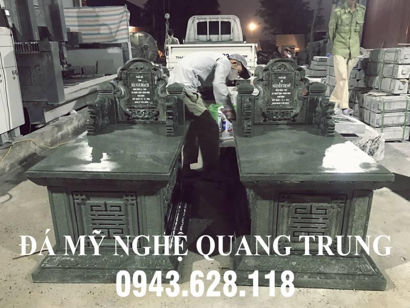 Mộ đá Phu Thê - Kiểu Tam Sơn không mái
