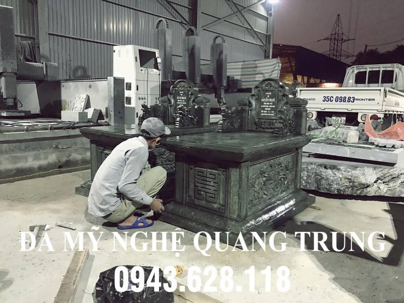 Mộ đá ĐẸP 2020 - Đá mỹ nghệ Quang Trung