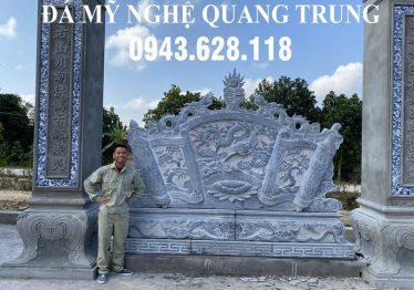Cuốn thư đá Lưỡng Long Chầu Nguyệt tại Thành phố Thái Bình