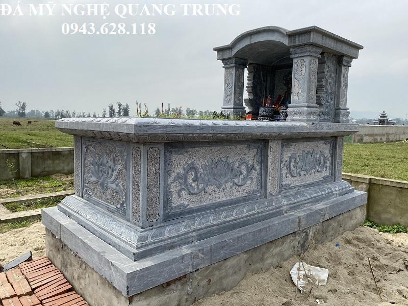 Hình ảnh Mộ đá ĐẸP của Nghệ nhân trẻ Quang Trung
