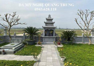 Khu lăng mộ đá đột phá phong cách của Đá mỹ nghệ Quang Trung
