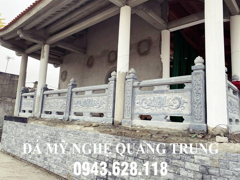 Lan can da cua Nha Bia tuong niem