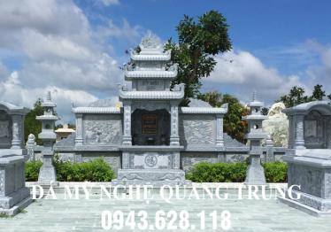 Lăng mộ đá 2 Mộ đơn ĐẸP của Đá mỹ nghệ Quang Trung