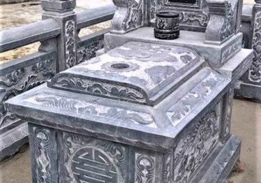 Mẫu Mộ đá đơn Quang Trung đẹp 2020