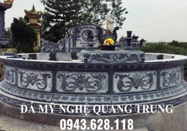Mộ đá tròn phong thủy cao cấp Quang Trung