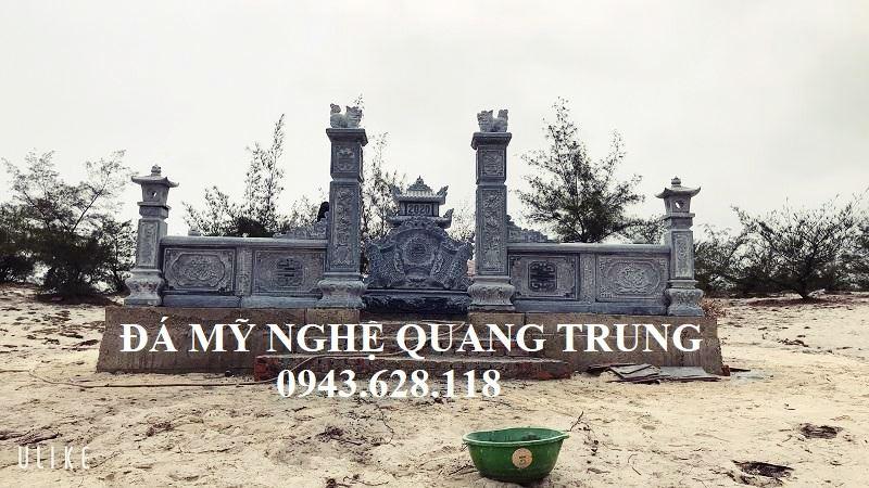 Chinh dien Lang mo da xanh reu