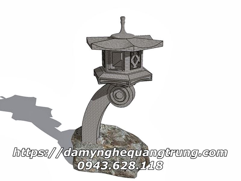 Den da trang tri Nhat Ban Den da co Mau Den da san vuon DEP 3 Lăng mộ đá, Mộ đá Ninh Bình
