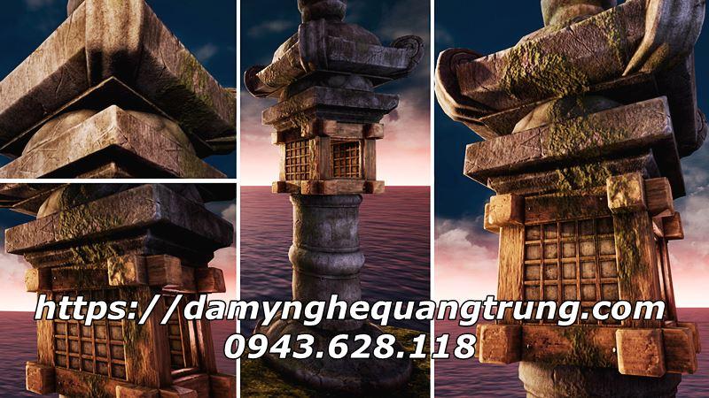 Den da trang tri Nhat Ban Den da co Mau Den da san vuon DEP 35 Lăng mộ đá, Mộ đá Ninh Bình