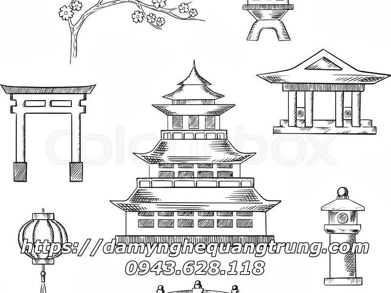 Den da trang tri Nhat Ban Den da co Mau Den da san vuon DEP 8 Lăng mộ đá, Mộ đá Ninh Bình