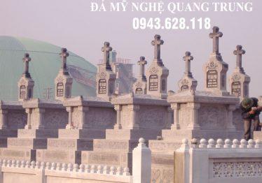 Xây dựng Khu lăng mộ đá Công giáo ĐẸP tại Ninh Bình