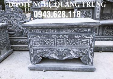 Bàn lễ đá đẹp cho Khu lăng mộ đẹp 2020