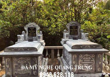 Mộ đá Tam Sơn ĐẸP – Đá mỹ nghệ Quang Trung