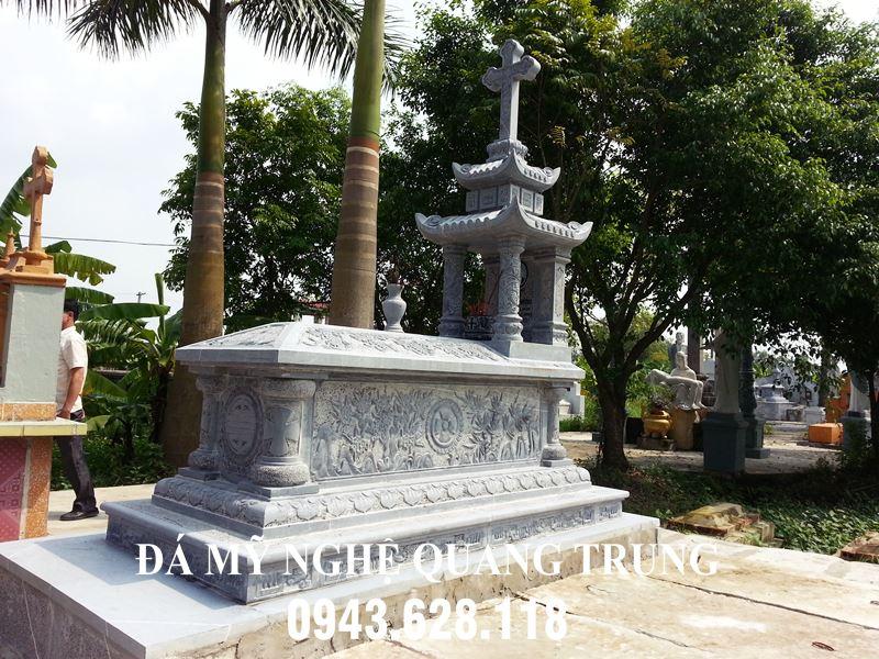 Mo da xanh cong giao DEP - Mo da nguyen khoi cho nguoi theo dao Thien Chua