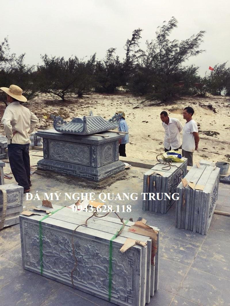 Tam Bung Lan can da xanh reu