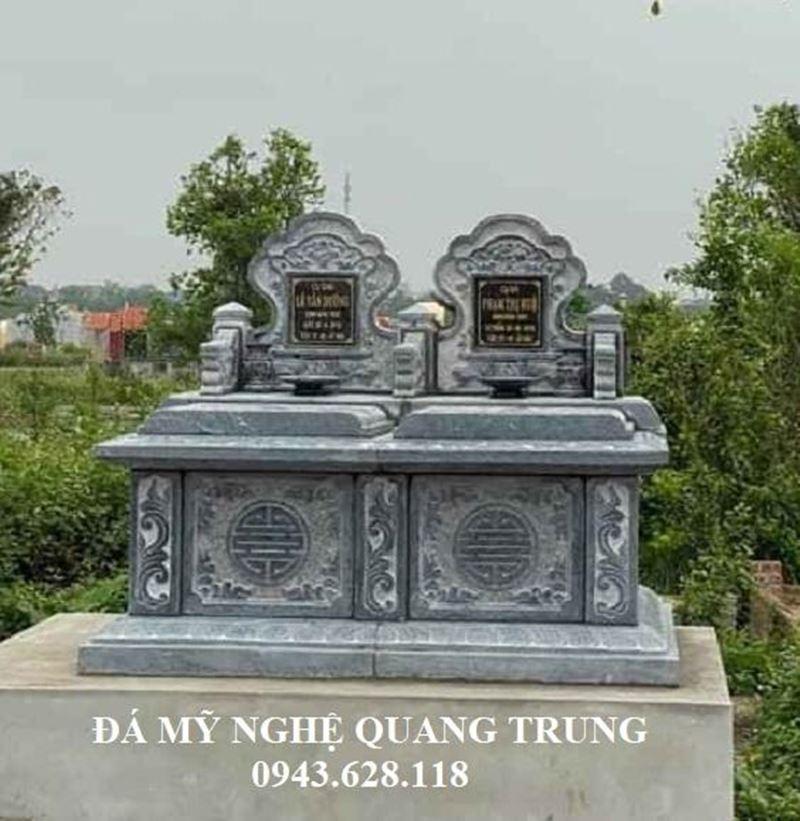 Chi tiet Mau Mo da doi Mo da doi DEP 2020 Lăng mộ đá, Mộ đá Ninh Bình