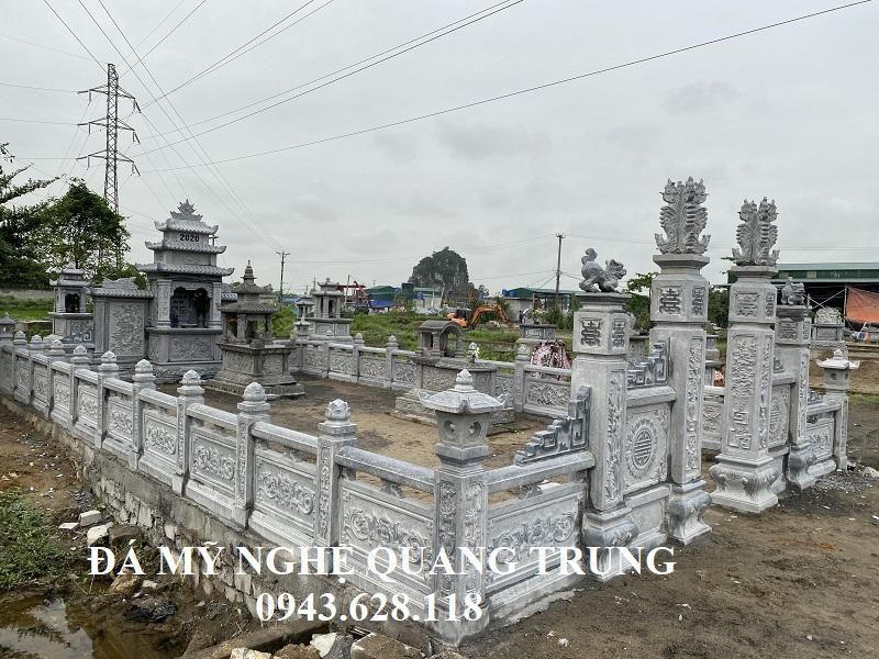 Khu Lăng Mộ Đá đẹp băm bạt cao cấp - Lang mo dep Ho Vo 2020
