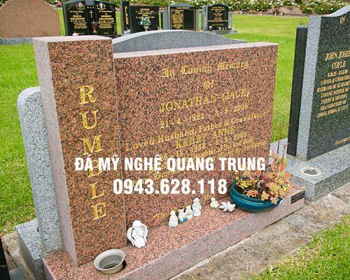 Mau Bia Mo da Hoa Cuong Bia mo da DEP 12 Lăng mộ đá, Mộ đá Ninh Bình