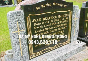 Bia Mộ đá – Mẫu Bia Mộ đá ĐẸP Hoa Cương – Đá mỹ nghệ Quang Trung