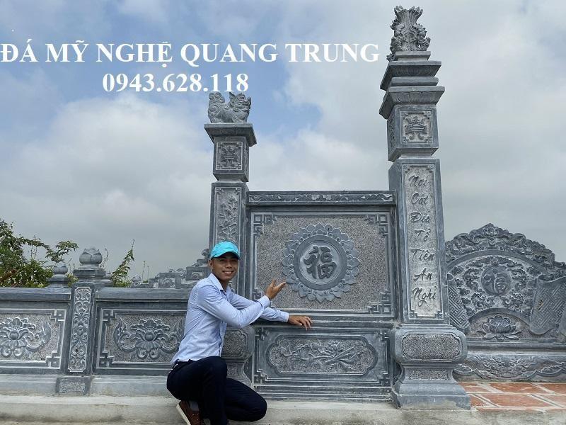 Hoa Van chu Phuc la diem nhan cua khu lang mo da