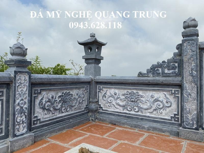 Kieu Mau Hoa van Lan can da cao cap cua Lang Mo Da - Co the lam Lan can da cho Nha tho ho - Tu duong - Dinh - Chua