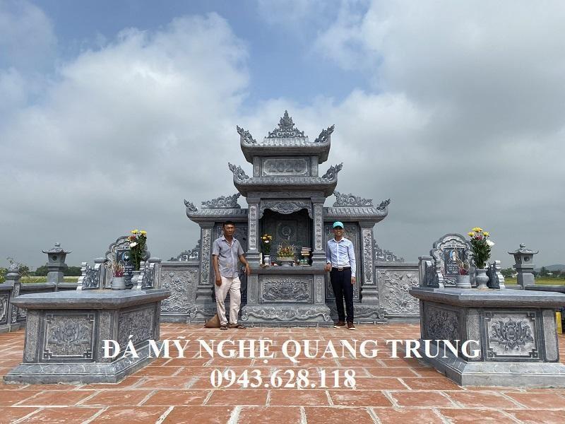 Lăng Mộ Đá Đẹp tại Diễn Châu, Nghệ An - Mẫu Lăng Mộ Đẹp Quang Trung năm 2020