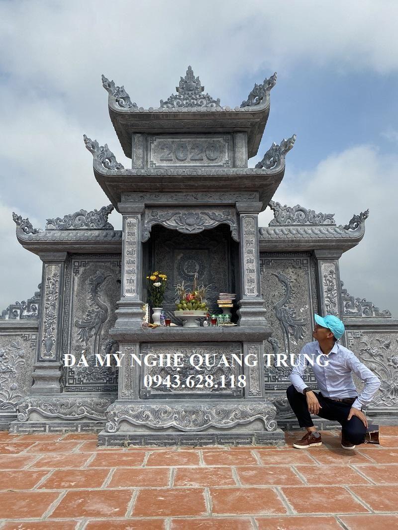 Lang Tho Da cao cap hien nay cua Nghe nhan Quang Trung thiet ke