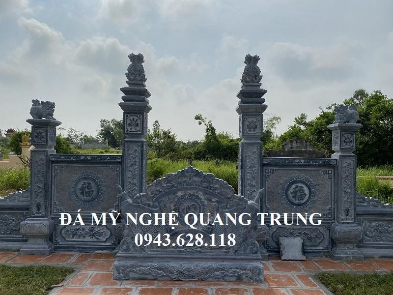 Mau Cong Da Dep Tu tru cua Khu lang mo da