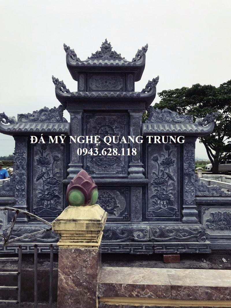 Phia Sau Lang Tho Da DEP Quang Trung