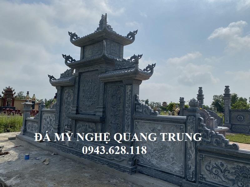 Phia Sau Lang tho canh cung duoc gia cong ti mi sac net