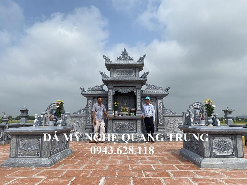 Su thanh cong cua Da my nghe Quang Trung da xay dung Khu Lang Mo Da hoan hao cho gia dinh