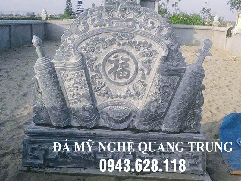 Binh phong da Ngu Phuc Lam Mon cho Nha tho ho