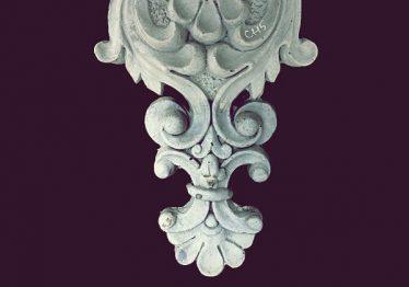 Mẫu Hoa văn phù điêu đầu cột đẹp15