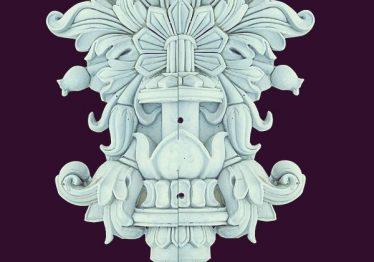 Mẫu Hoa văn phù điêu đầu cột đẹp19