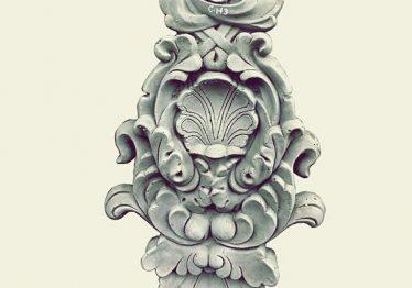 Mẫu Hoa văn phù điêu đầu cột đẹp13