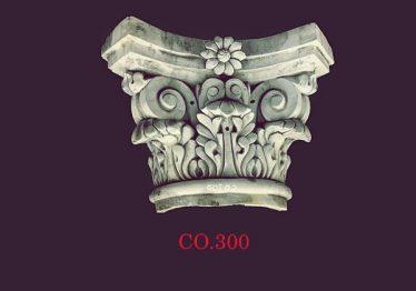 Mẫu Hoa văn phù điêu đầu cột đẹp38