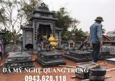 Tư vấn, xây dựng Khu Lăng Mộ Đá xanh rêu cao cấp tại Hà Nội