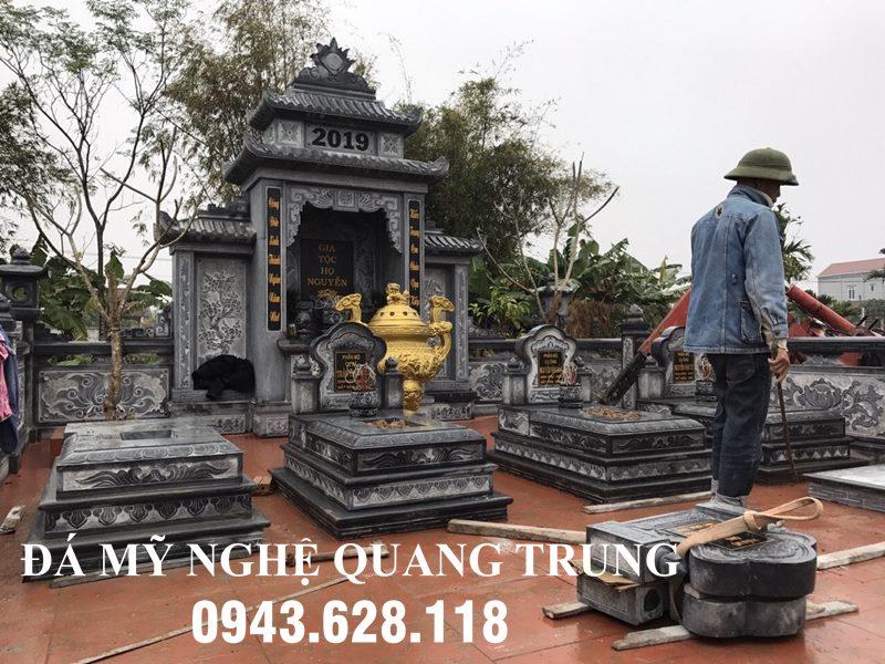 Khu Lang mo da DEP - Da xanh reu cao cap voi Lu Huong Vang DEP
