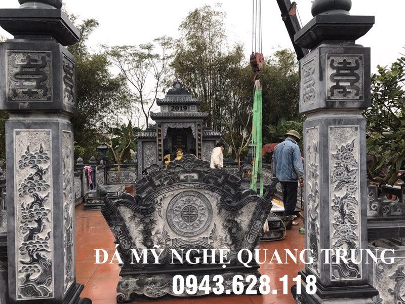 Lam Lang mo da bang da xanh reu DEP-Da My Nghe Cao cap o Ninh Binh