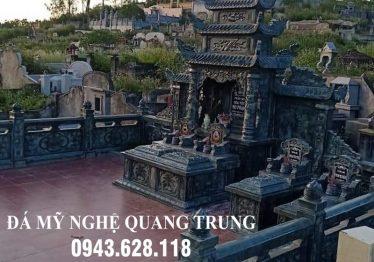 Xây dựng Khu Lăng mộ đá xanh rêu đẹp tại Ninh Vân, Hoa Lư, Ninh Bình