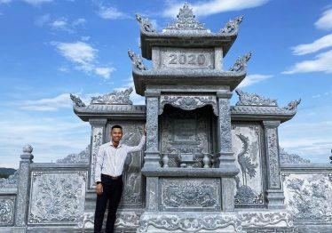 Thiết kế Lăng Thờ Đá (Long Đình, Am thờ đá) cao cấp tại Nghệ An