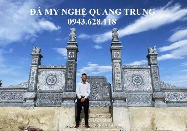 Xây dựng Cổng đá đẹp cho Khu Lăng Mộ Đá cao cấp tại Nghệ An