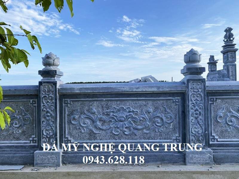 Tam Bung Lan can da voi hoa van sac net phong thuy