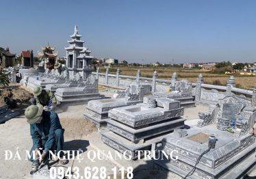Xây dựng Khu Lăng Mộ Đá Đẹp tại Hải Phòng năm 2019 – Mẫu Lăng Mộ Đẹp Quang Trung