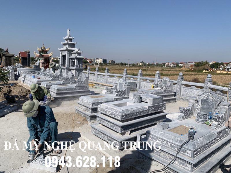 Xay Dung Khu Lang Mo Da DEP - Cao cap Quang Trung tai Bac Giang