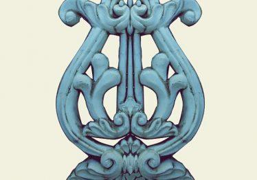 Mẫu Hoa văn phù điêu đầu cột đẹp4