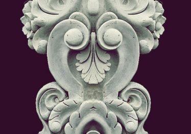 Mẫu Hoa văn phù điêu đầu cột đẹp5