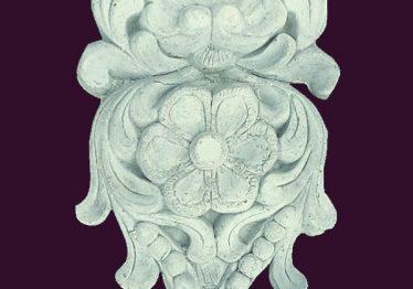 Mẫu Hoa văn phù điêu đầu cột đẹp6