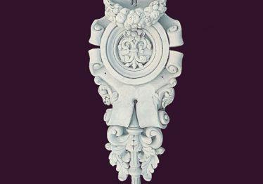 Mẫu Hoa văn phù điêu đầu cột đẹp7