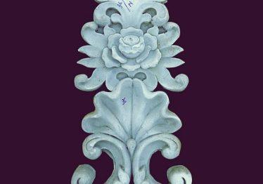 Mẫu Hoa văn phù điêu đầu cột đẹp10