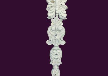 Mẫu Hoa văn phù điêu đầu cột đẹp11